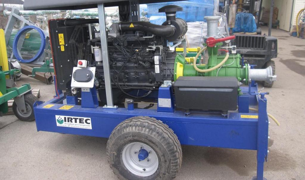 насос для дождевальной машины,привод от дизельного двигателя 5+