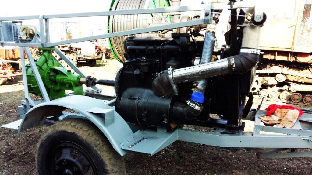 насос роватти для дождевальных машин, для дизельного двигателя, фото