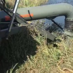 Насос от вом трактора 3600м3/ч, Венерони ETR 50, на поливе риса