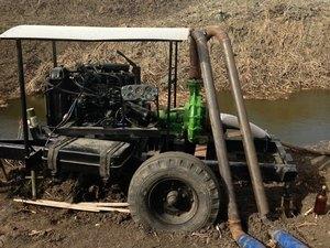 Насосы к дизельному двигателю для орошения и перекачки